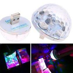 USB ánh sáng 7 màu theo nhạc