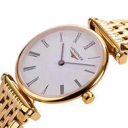 đồng hồ nam LONGZIN siêu mỏng hai kim giá sỉ cực tốt