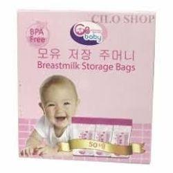Túi trữ sữa GB Hàn Quốc hộp 50 túi