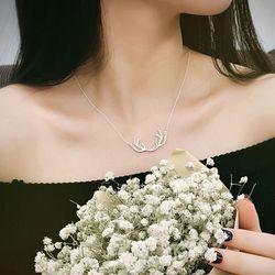Dây chuyền nữ nhẹ nhàng xi bạc 925 trắng sáng AV1138