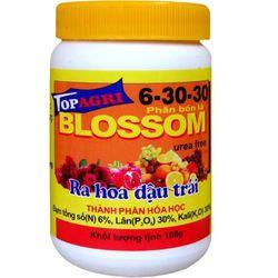 Phân bón lá kích bông phong lan Blossom 6-30-30 TopAgri chuyên gia hoa lan 2kg giá sỉ