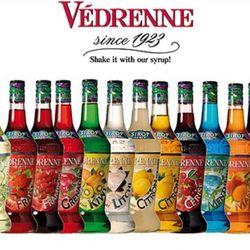 Syrup Vedrenne Siro pha chế cho cafe quầy bar giá sỉ