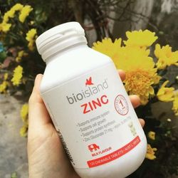 Viên bổ sung Kẽm cho trẻ Bio Island ZINC giá sỉ