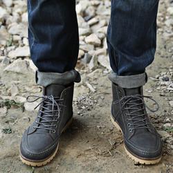 Giày Boot Nam Cổ Cao Màu Xám giá sỉ, giá bán buôn