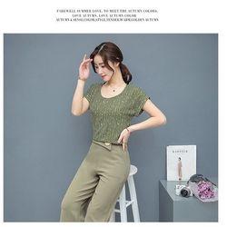 Hàng Nhâp - Sét áo quần ống rộng cách điệu