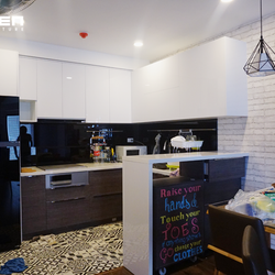 Thiên Furniture - Thi công tủ bếp Laminate Nhật Bản ở Hà Nội