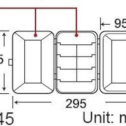 Hộp plastic lưu trữ linh kiện Proskit 103-132C giá sỉ, giá bán buôn