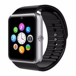 Đồng hồ thông minh smartwatch Mobile GT08 ( đen viền bạc)