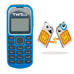 THT T128 2 sim 2 sóng đen trắng xanh giá sỉ