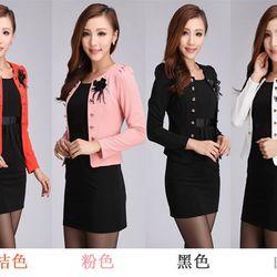 Áo vest nữ dài tay thời trang kiểu dáng mới trẻ trung mẫu thu Mã sản phẩm 10691809