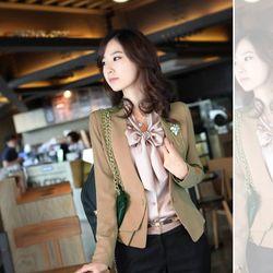 Áo vest nữ thời trang kiểu dáng thanh lịch trẻ trung mẫu hàn Mã sản phẩm 11255392