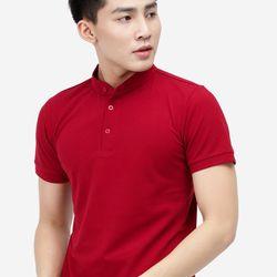 Áo THUN Titishop AT300 cổ trụ màu đỏ - giá sỉ, giá tốt