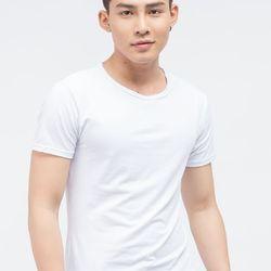 Áo thun Titishop tay ngắn cổ tròn màu trắng AT278 - giá sỉ, giá tốt