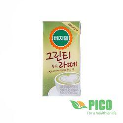 Sữa Đậu Nành Vị Trà Xanh VEGEMIL (Thùng 16 Hộp)