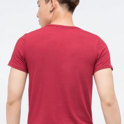 Áo thun Titishop tay ngắn màu đỏ AT275 - giá sỉ, giá tốt
