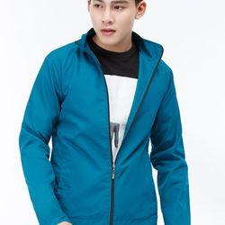 Áo khoác dù Titishop AKN450 2 lớp màu xanh ngọc đậm giá sỉ