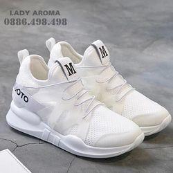 Giày sneaker nữ trơn cá tính LADY AROMA-ARBT73
