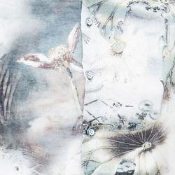 Áo sơ mi Titishop SM553 tay ngắn họa tiết chim công - giá sỉ, giá tốt