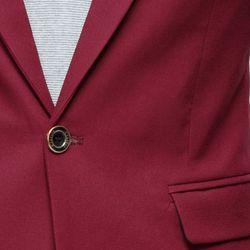 Áo vest Titishop màu đỏ cổ bẻ thêu họa tiết AVN59 - giá sỉ, giá tốt