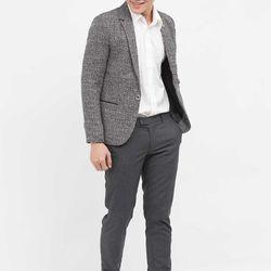 Áo vest NAM Titishop màu xám 1 nút cài AVN49 - giá sỉ, giá tốt