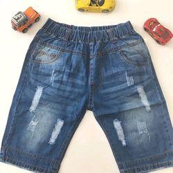 quần lửng jeans cotton