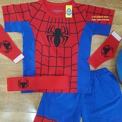 Quần áo siêu nhân nhện ngắn giá sỉ