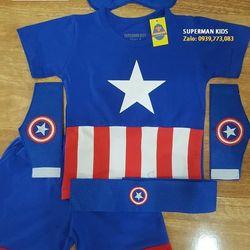 Quần áo siêu nhân đội trưởng Mỹ