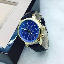 đồng hồ nam TISSOT 6 kim dây da giá sỉ không đối thủ
