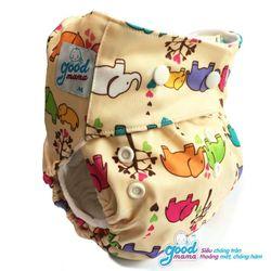 Bỉm vải ban ngày Goodmama siêu chống tràn cho bé 3-13kg giá sỉ