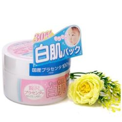 Mặt nạ rửa trôi dưỡng da White Label Premium Placenta Pack