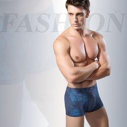 Bộ 3 quần lót nam viền hoa co giãn tốt Xám - ms 17009 giá sỉ