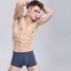 Combo 3 quần lót nam thun co giãn tốt Xám - ms 17006 giá sỉ