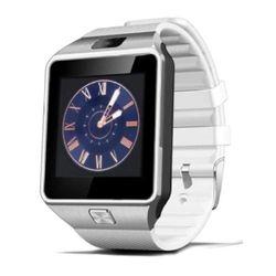 Đồng hồ thông minh Smartwatch UWATCH DZ09 plus Có Sim ( trắng )