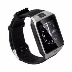 Đồng hồ thông minh Smartwatch UWATCH DZ09 plus Có Sim ( bạc)