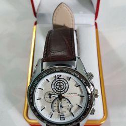 Đồng hồ dây da 6 kim mẫu thời trang nam