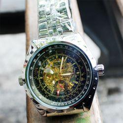 Đồng hồ cơ tự automatic chạy 4 kim Jaragar giá sỉ