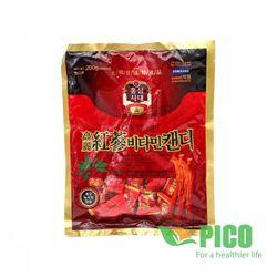 Kẹo Hồng Sâm Vitamin Hàn Quốc 200g