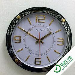 Đồng hồ treo tường hình tròn dạ quang đẹp