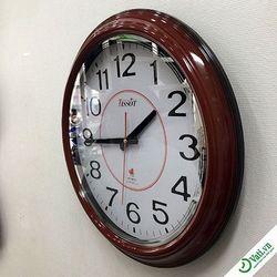 Đồng hồ treo tường hình tròn Brown S20