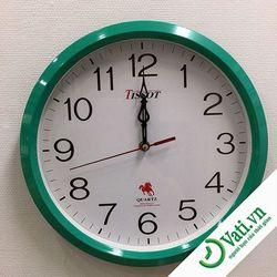 Đồng hồ treo tường hình tròn Green S9