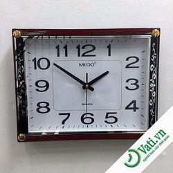 Đồng hồ treo tường vati f59 - nhận in quảng cáo lên đồng hồ