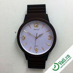 Đồng hồ treo tường hình vuông f67 -  Nhận in quảng cáo lên đồng hồ