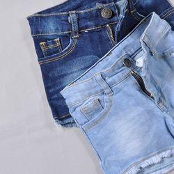 Quần short jeans bé gái