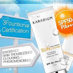 Kem chống nắng Karadium Snail Repair Sun Cream SPF50 PA giá sỉ