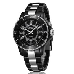 Leegoal Ohsen LED Light Analog Quartz Outdoor Wrist WatchesBlack giá sỉ