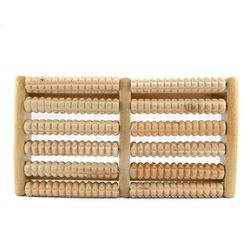 Bàn gỗ massage chân 6 hàng - ms 17066 giá sỉ