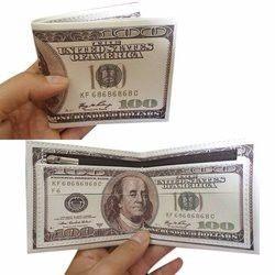 Ví Hình Tờ Tiền Đô la 100 USD giá sỉ