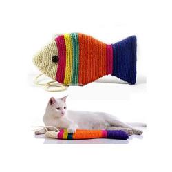 Cào móng hình cá sặc sơ cho chó mèo giá sỉ