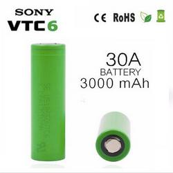 Pin Sony VTC6 18650 Xanh - 30A 3000mAh giá sỉ