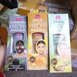 Mặt nạ Collagen lột mụn dưỡng trắng da Facial Mask Thái Banna 3 dòng giá sỉ